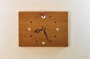 楢(なら)の木のナチュラルな掛け時計