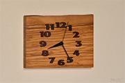 オリーブの掛け時計