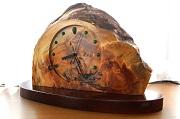 黒松重厚置き時計