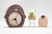 ペンギンの置き時計:親子ver
