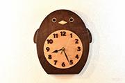 ペンギンの掛け時計