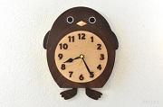 ペンギンの振り子時計